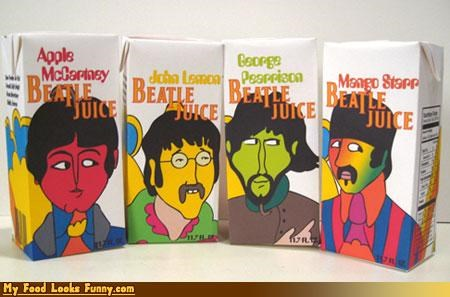 beatles celeb drink fruit fruits-veggies fruity juice juice box