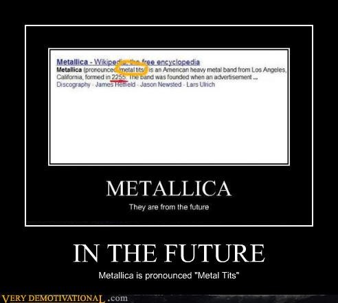 impossible,in the future,metallica,nothing else matters,recursive,self referential,time travel