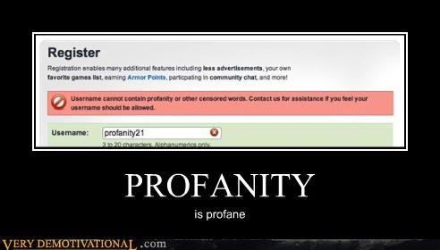 censorship irony profanity the interwebs - 4126397184