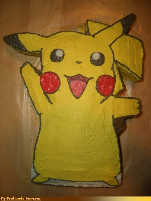 cake,nintendo,pikachu,Pokémon,Sweet Treats,video games
