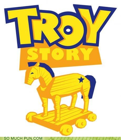 finding nemo greek homer logo Movie mythology neree odyssey pixar poster toy story trojan horse troy - 4126572544