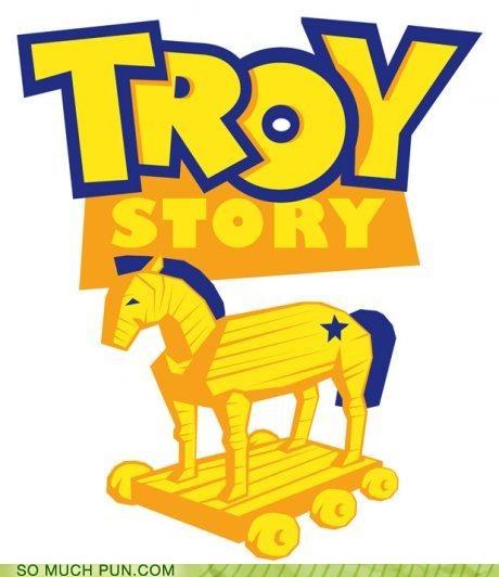finding nemo greek homer logo Movie mythology odyssey pixar poster toy story trojan horse troy - 4126572544