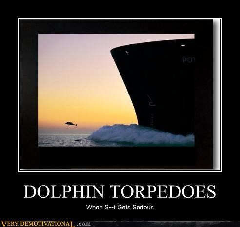 destruction dolphins impossible navy serious torpedos weapons