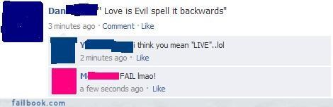 facepalm quotes status updates The Spelling Wizard your friends are laughing at you - 4126725888