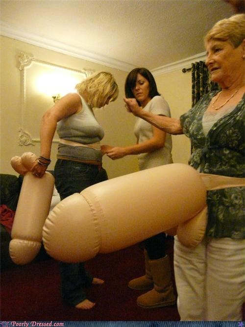 blowup old ladies Party penis - 4127104000