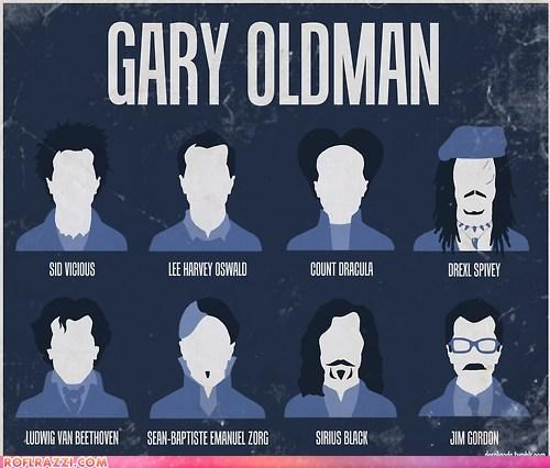 actor batman Extras Fan Art Gary Oldman Hall of Fame Harry Potter sci fi - 4127309568