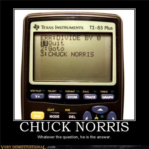 calculator chuck norris math math sucks ti-83 - 4127333632