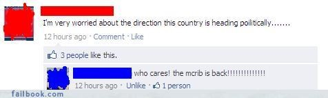 everyone is laughing facepalm mcrib nice try win - 4128751616
