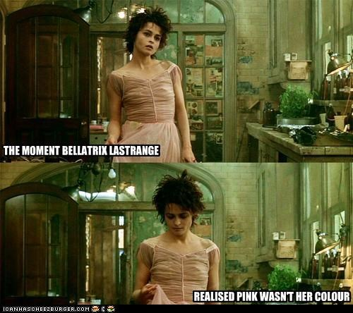 bellatrix lestrange dress fashion fight club helena bonham-carter lolz pink - 4129171712