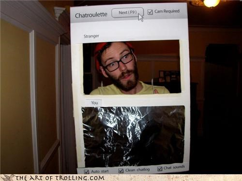 Chat Roulette costume everywhere halloween - 4129858816