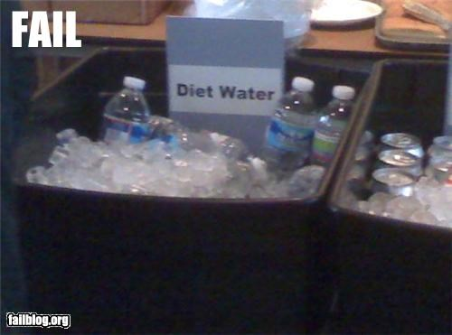 Ad diet failboat g rated really selling sign water