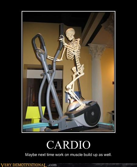 cardio Death exercise idiots skeleton youre-doing-it-wrong - 4131961344