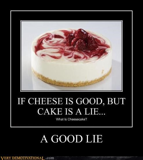 cake cheesecake hilarious lie lol nom nom nom Portal - 4132411392