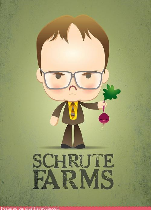 caricature cartoons dwight schrute Office the office - 4132655616