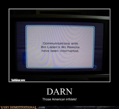 america,nintendo,Osama Bin Laden,wii,wii-mote