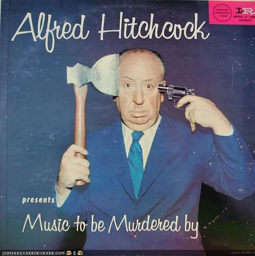 alfred hitchcock funny murder Music wtf - 4132940032