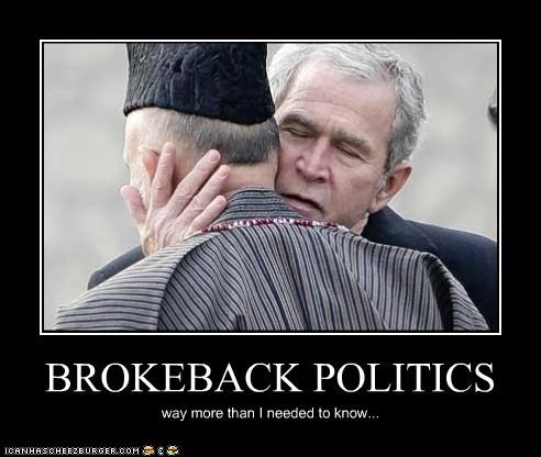 BROKEBACK POLITICS way more than I needed to know...