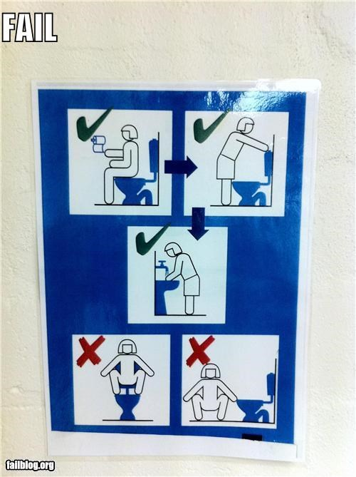 bathrooms failboat images posters really signs toilets uses - 4133078272