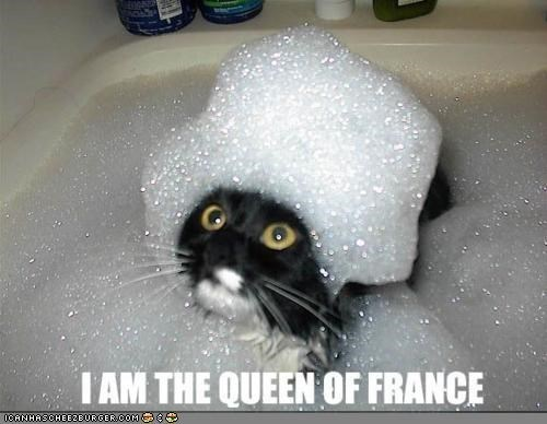 bath,bubbles,caption,captioned,france,Hall of Fame,marie antoinette,queen