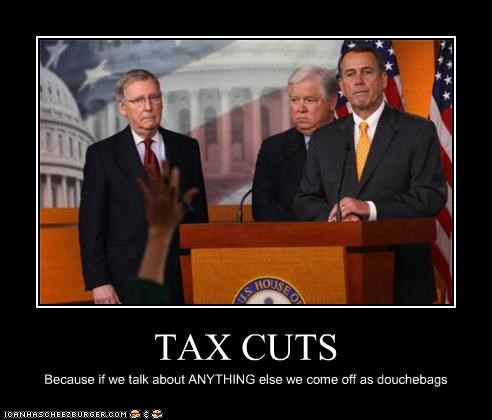 demotivational john boehner mitch mcconnell taxes