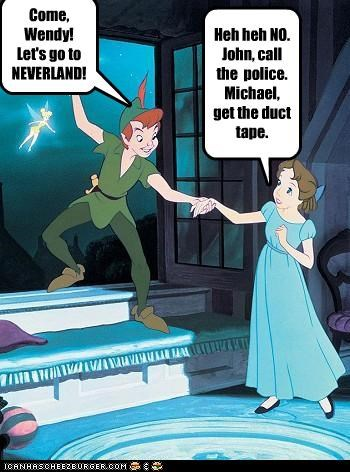 cartoons disney lolz peter pan