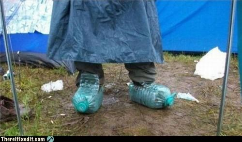 shoes,water bottles,waterproof