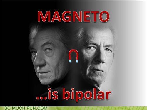 attraction bipolar LHC magnet magnetism Magneto manic depression relationships repulsion x men - 4135832064