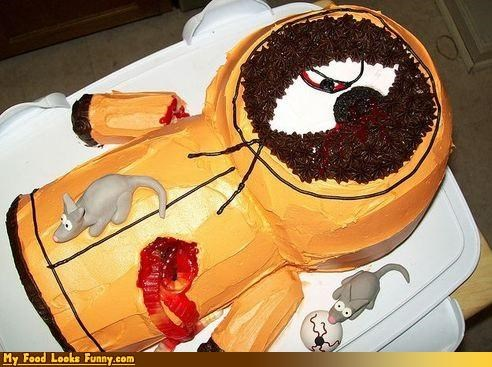 cake,dead,Kenny,killed,rats,South Park,Sweet Treats