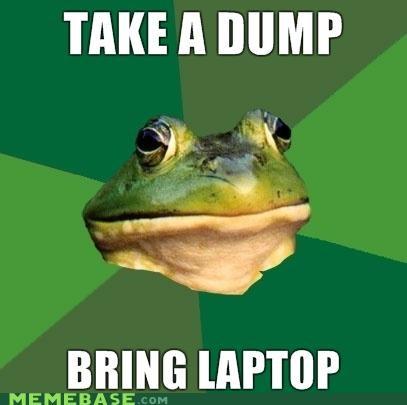 foul bachelor frog Memes reading material - 4136294144
