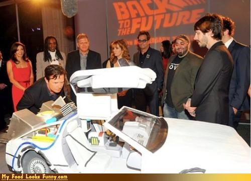 ace of cakes anniversary back to the future cake DeLorean michael j fox movies Sweet Treats - 4136655360