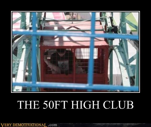 50 feet ferris wheel mile high club