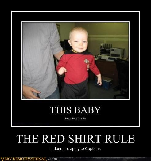 baby red shirt captain - 4137469696