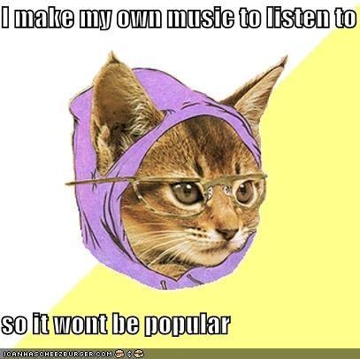 hipster Memes Music outsider - 4137570304