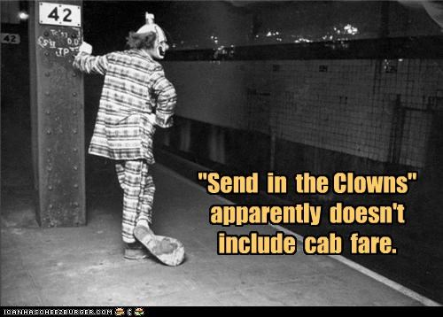 clown creepy funny Photo