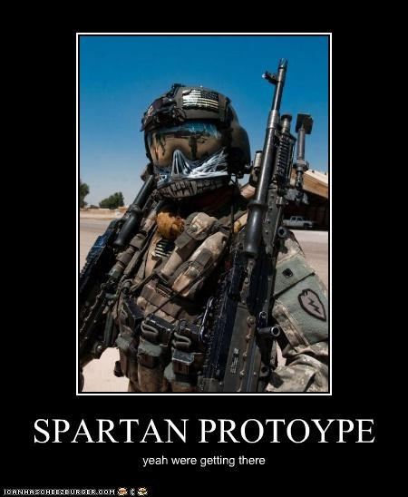 SPARTAN PROTOYPE yeah were getting there