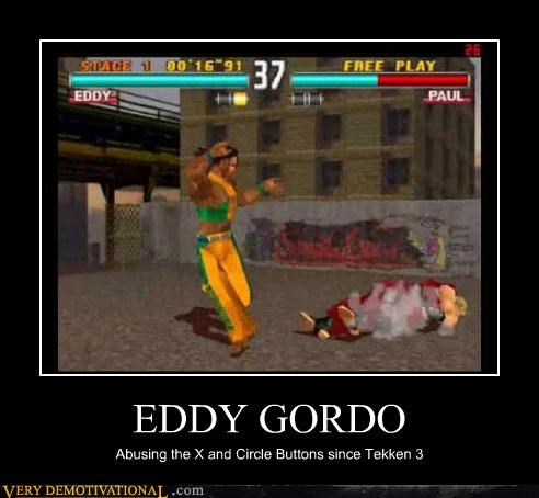 Tekken,button mashing,eddy gordo