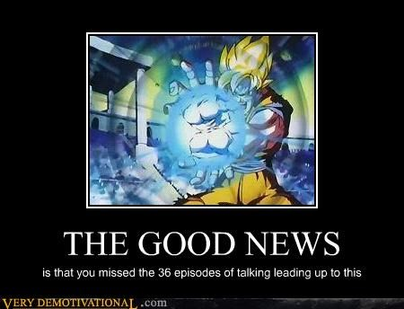kamehameha good news Dragon Ball Z