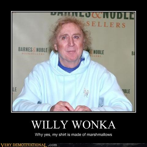 marshmallow,Willy Wonka