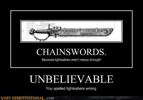 chain swords unbelievable - 4140262656