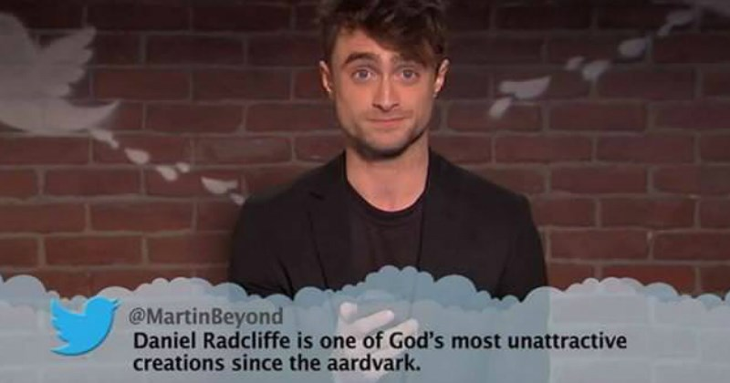 celebs mean tweets