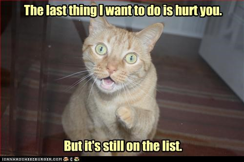 caption captioned cat finger fyi Hall of Fame hurt last thing list pointing punishment still tabby want you - 4140435968