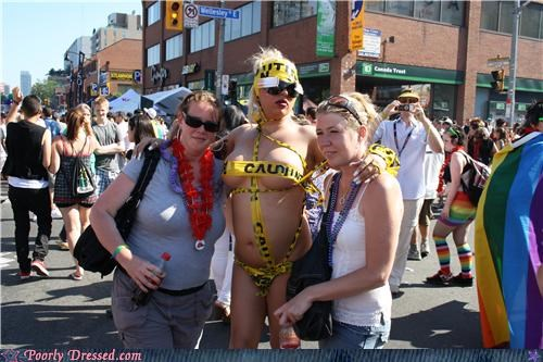 au natural,caution tape,eww,ladies night,wtf