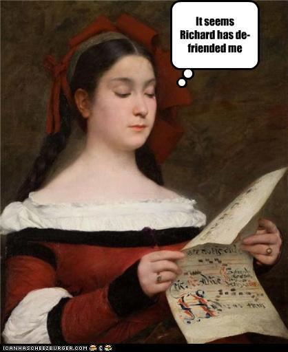 art color funny historic lols lady painting portrait - 4141974528