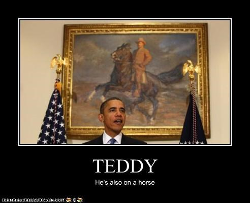 TEDDY He's also on a horse