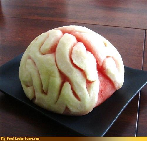 booze brain carved fruits-veggies spodi vodka watermelon - 4142970880