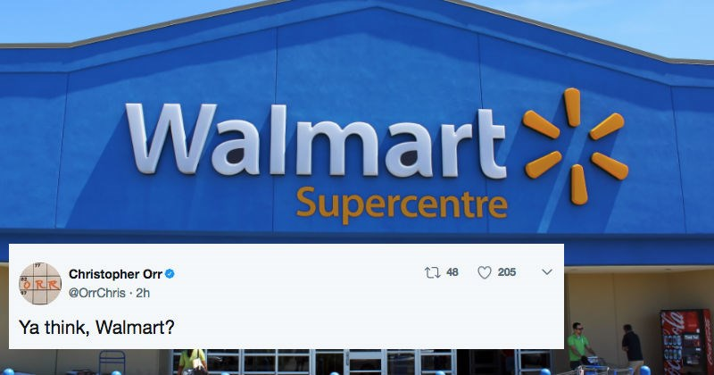 Walmart forced to pull inappropriate t-shirt off the shelves because it takes aim at journalists with terrible message.