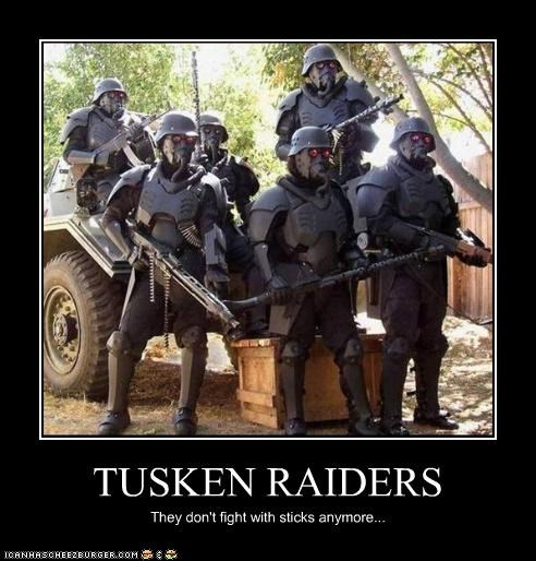creepy demotivational funny lolz star wars tusken raiders - 4143627776
