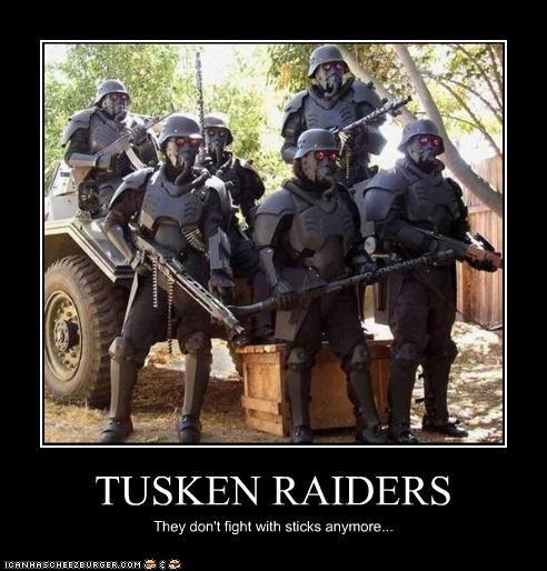creepy demotivational funny lolz star wars tusken raiders - 4143627776