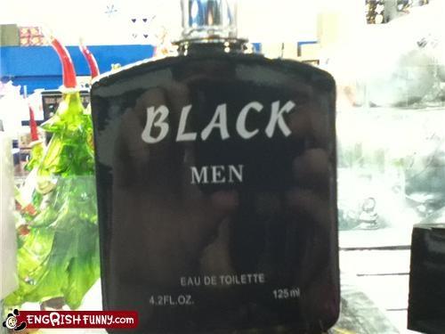 black men,perfume,racism