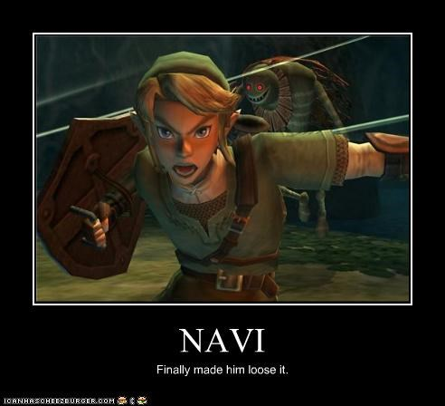 NAVI Finally made him loose it.